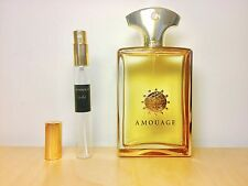 GOLD MAN by AMOUAGE - 10ml sample - 100% GENUINE