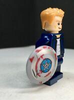 CAPTAIN AMERICA MARVEL  ENDGAME SUPER HERO MINIFIGure Lego Movie the hero