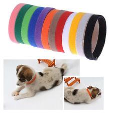Soft Newborn Puppy Kitten Dog Cat Whelping I.D Collars Bands Washable Adjustable