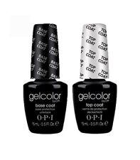 OPI GelColor - Gel TOP Coat and Gel BASE Coat 0.5 fl oz