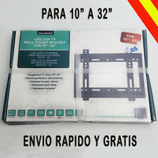 Soporte TV Pared LCD LED PLASMA Universal Para 16 19 20 22 24 26 27 28 29 30 32