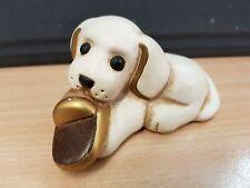 THUN Cane cm 9 cagnolino con ciabatta pantofola Raro