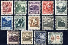 Liechtenstein 1930, MiNr. 94-107, limpio con sello, mié. 847,-