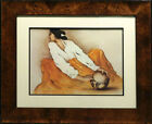 R.C Gorman Pottery Keeper poster with new custom frame Make an Offer!