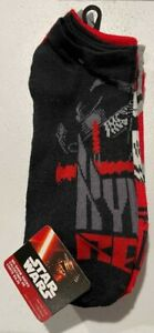 Star Wars No Show Socks 4 Pairs Size 10-13 New with Tags