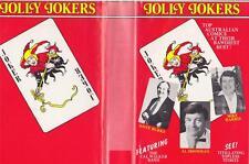 JOLLY JOKERS TOP AUSTRALIAN COMICS AT THEIR BAWDIEST BEST VHS PAL VIDEO~ RARE