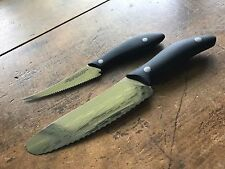 "Ken Onion Sky Kitchen Knives 4"" Detail Serrated Knife and 6"" Supreme Utility"