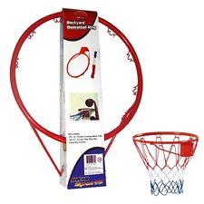 ALERT Sports stabiler Basketballring ca. 45cm Basketball Korb mit Netz