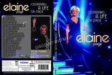 Elaine Paige - Celebrating a life on Stage (DVD, 2012) NEW ITEM