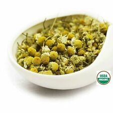 Organic Chamomile Flower Tea - 1 oz - USDA Certified Dried Loose Leaf from Egypt