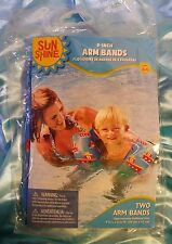TUGBOAT double layer child swim arm bands 9-inch sun shine ages 3-6 pool floats