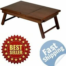 Breakfast In Bed Table Portable Laptop Desk Computer Serving Tray Workstation
