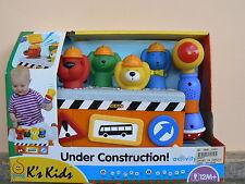 NUOVO K's Kids gioco sonoro lavori in corso KA10549