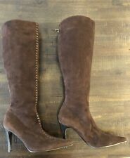 STUNNING BOTTEGA VENETA BROWN SUEDE BOOTS NEW WITHOUT BOX RRP $2350