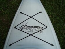 Kayak Bungee Deck and Hatch Cover Kit Easy to Install Made in USA Instructions