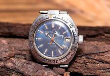 Vostok Komandirskie Diver Automatic Antimagnetic Amphibian Amphibia USSR Watch
