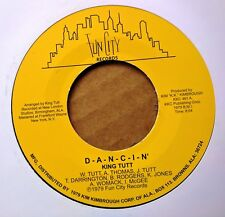 ALABAMA SOUL 45: KING TUTT D-A-N-C-I-N/You've Got Me Hung Up FUN CITY reissue