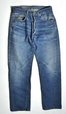 Levis 501 Jeans Redline Selvedge Nice Fade HIGE Tag 34x32 Measure 31x28 Small e