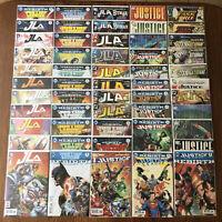 LOT: 57 JUSTICE LEAGUE JLA AMERICA COMICS REBIRTH 11 #1s & 7 VARIANTS DC Batman