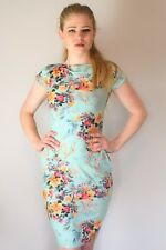 Dress Summer Womens Floral spring Uk Bodycon casual pocket stretch bardot boohoo