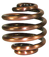 PAIR ANTIQUE COPPER FINISH 2 INCH SOLO SEAT SPRINGS HARLEY BOBBER SHIPS FROM USA