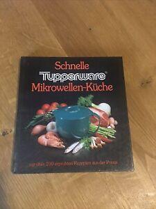 """Tupperware Buch """"schnelle Mikrowellen Küche"""""""