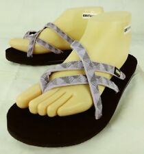 9a398b77ad015 TEVA Womens Sandals Mush 6840 US 9 Purple Textile Slip-On 4514