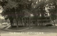 Charlestown NH The Elms c1915 Real Photo Postcard