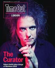 London Time Out Magazine June 2018 Robert Smith The Cure Cover Interview