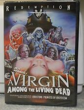 A Virgin Among the Living Dead (DVD, 2013) RARE 1973 HORROR BRAND NEW