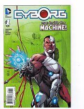 Cyborg # 1 Man Inside The Machine Regular Cover DC NM