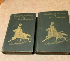 Personal Memoirs of P.H. Sheridan 1888 2 Volumes in Used Condition 1st Edition