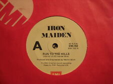 IRON MAIDEN Run To The Hills / Total Eclipse ~ RARE! 1982 Oz (Aussie) 45 Single