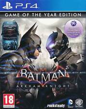 Batman Arkham Knight Game of the Year Edition PS4 Game GOTY BRAND NEW SEALED