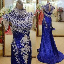 Sparkly beading Prom Cocktail Dresses Crystal Formal Evening Pageant Party Gowns
