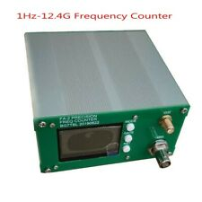 FA-2 1Hz-12.4GHz Frequency Counter Kit Frequency Meter Statistical 11 bits/sec