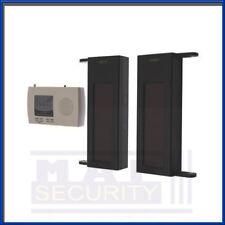 Solar Power Wireless 1 BEAM 50m Warehouse Yard Entry Alert Alarm System UK STOCK