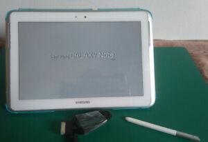 Tablette Samsung Galaxy Note 10.1 HS écran cassé