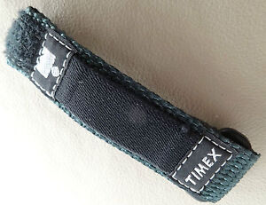 Small Womens Kids Teens 12-16mm Nylon Timex Green Fast Wrap Ironman Watch Band