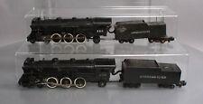 American Flyer 290  4-6-2 Die-Cast Steam Locomotive & Tender (2)