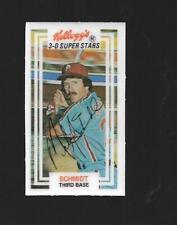 MIKE SCHMIDT 1983  KELLOGGS 3-D SUPERSTARS CARD # 58
