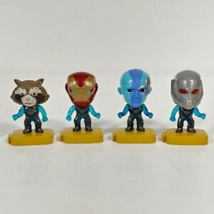 Marvel Avengers End Game Happy Meal Toys McDonalds 2019 Lot of 4 Lights Up