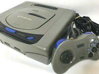 Sega Saturn  Console Gray Japan JP SS SegaSaturn Controller tested work NTSC-J