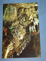 VINTAGE BALCONY  TITAN'S TEMPLE HOWE CAVERNS COBLESKILL  NEW YORK   POSTCARD