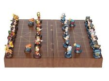 3D Chinese Chess set Xiangqi Romance of the Three Kingdoms Caocao and Liubei