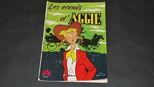 Aggie N°9 Les Ennuis d'AGGIE Edition pelliculée de 1971
