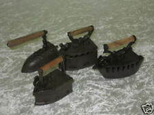 Decoración hierro fundido PLANCHA Juego konvolut Colección 4 PIEZAS CADA 10cm