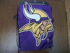 NFL Minnesota Vikings Viking Head Sling Backpack   NWT