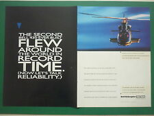 9/97 PUB BELL HELICOPTER TEXTRON HELICOPTERE BELL 430 HUBSCHRAUBER ORIGINAL AD