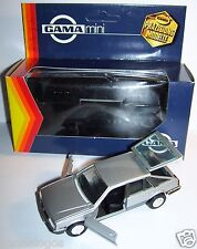 RARE GAMA OPEL ASCONA REF 1141 GRIS CLAIR METAL INTERIEUR NOIR 1/43 IN BOX
